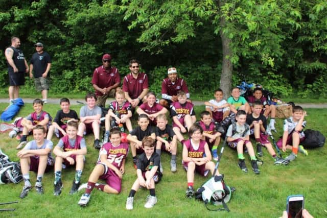 Ossining lacrosse players participated in the Somers Slam tournament.