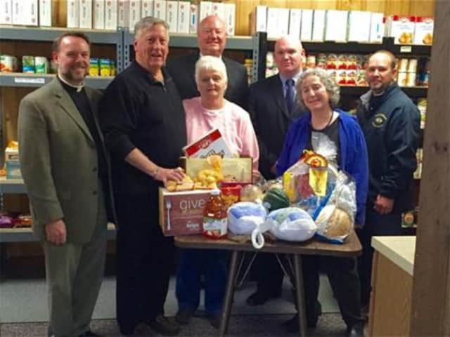 The Thanksgiving Food Drive was successful and provided dozens of meals for members of the community in need.