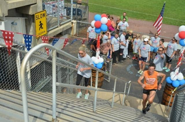 The Stadium Stair Climb on Sept. 24 at Bridgeport's Ballpark at Harbor Yard will benefit Homes for the Brave.
