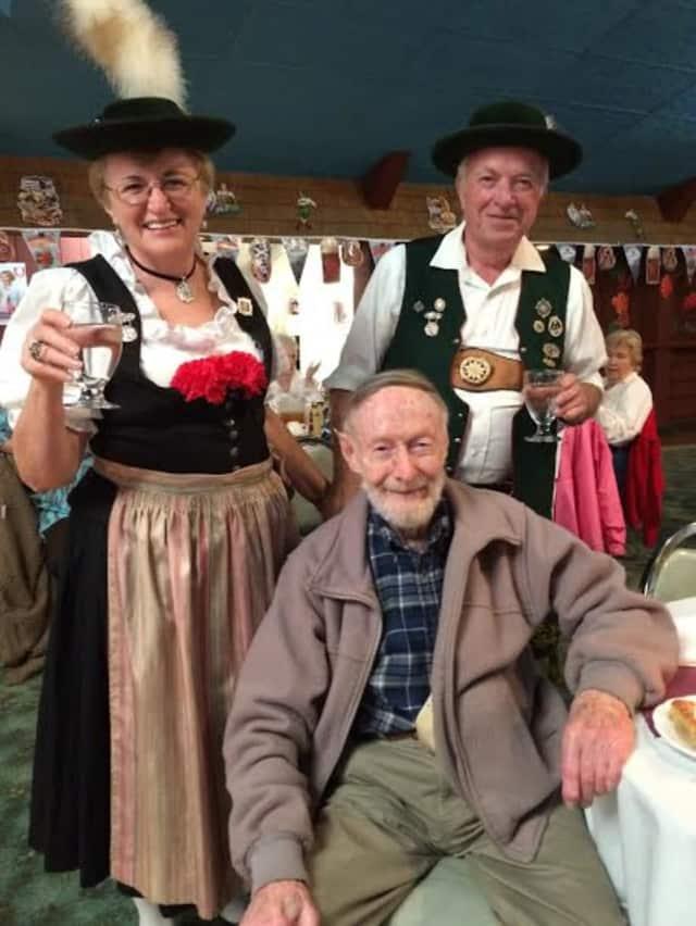 Lewisboro seniors celebrate Oktoberfest at Kruckers Picnic Grove in Pomona.
