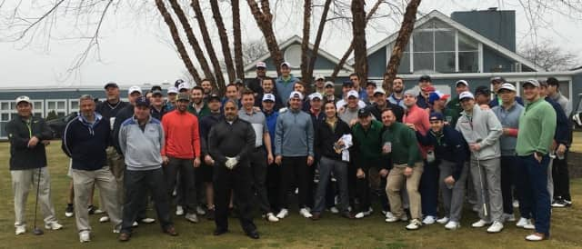 Yorktown Alumni gather to benefit  the Harrison Apar Field of Dreams Foundation and the Yorktown Athletic Club