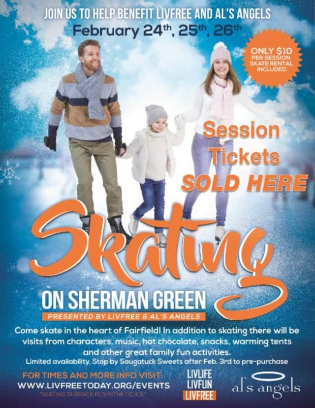 Volunteers are still needed to staff the first-ever Skating on Sherman Green in Fairfield.