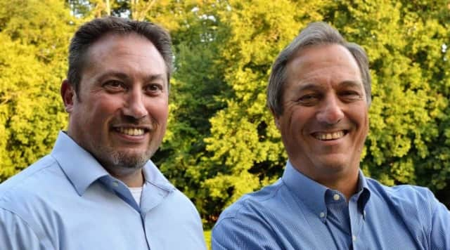 Dan McNatty and Mark Aarons are running for seats on the Croton Village Board