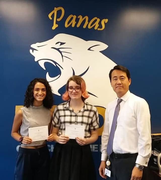 Lauryn Aviles and Harriet Lengel-Enright were named Commended Students in the National Merit Scholarship Program.
