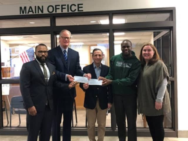Vistra Energy Company donated $5,000 so Norwalk High School and Brien McMahon High School seniors can celebrate graduation night safely.