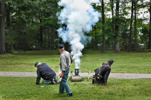 Experience the the Civil War Encampment at The Hermitage in Ho-Ho-Kus.