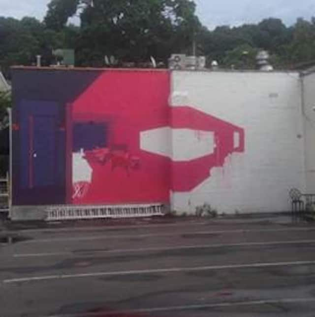 """Sherry B Studio in Chappaqua is hosting an """"Off the Wall"""" party to open this public mural exhibit Sept. 17."""