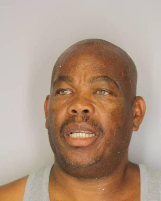 A Poughkeepsie man was accused of hitting his ex-girlfriend in front of their daughter in a Hyde Park parking lot.