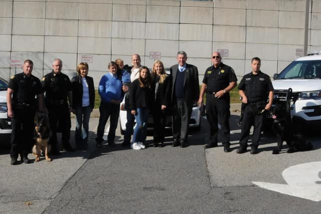 Joseph Stilwell and Monika Stilwell donated more than $120,000 to the Putnam County Sheriff's K-9 Unit.