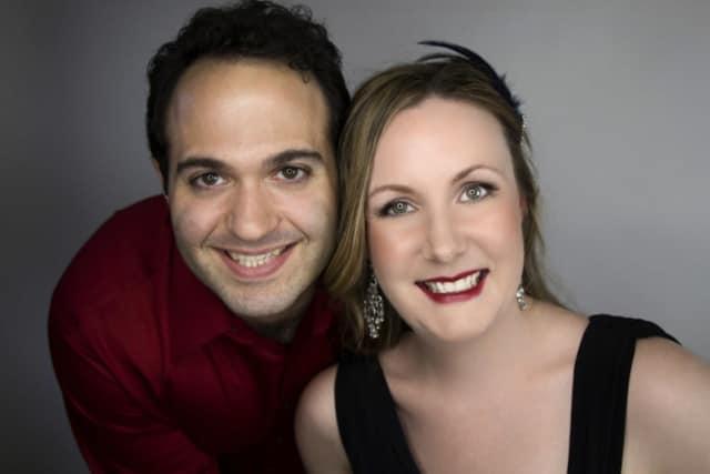 Vincent Ricciardi and Emily Wright-Ricciardi will perform Oct. 4 at the New Rochelle Public Library's Ossie Davis Theater.