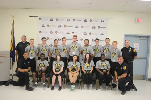 Town Of Poughkeepsie Police Department Celebrates Youth Academy