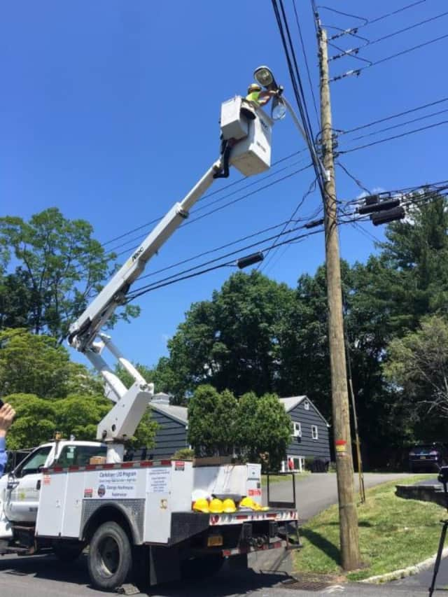 Clarkstown is converting its streetlights to modern, energy efficient LED fixtures.