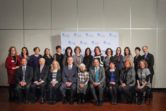 Jewish volunteers were celebrated for their work in Westchester at the 2017 Julian Y. Bernstein Distinguished Service Awards Ceremony on Wednesday, March 15.