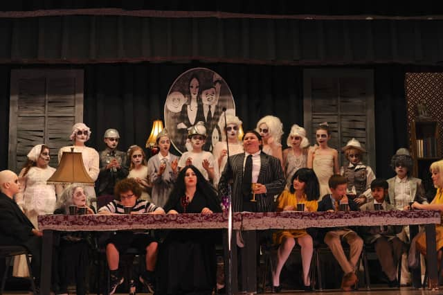 """The Addams Family"" arrived on stage in Haworth last week."