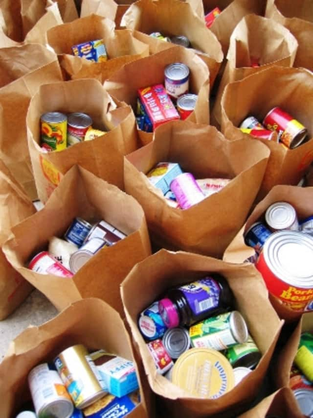 The Rochelle Park Library is collecting food donations in exchange for removal of patrons' late fees.