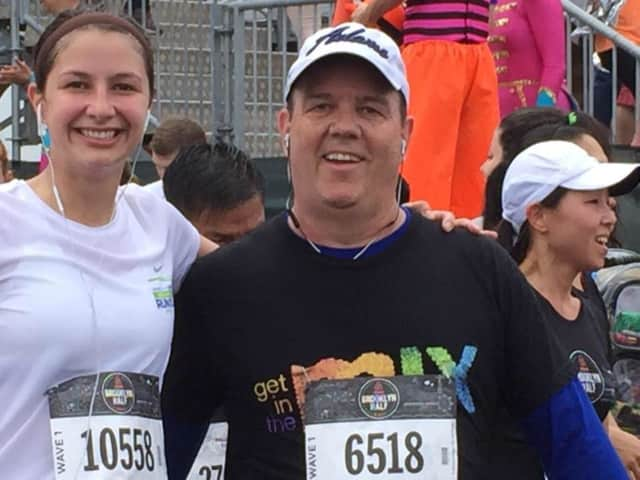 Bronxville resident Tom Murphy is running Saturday's Airbnb Brooklyn Half Marathon three months after having 40 percent of his lung removed.