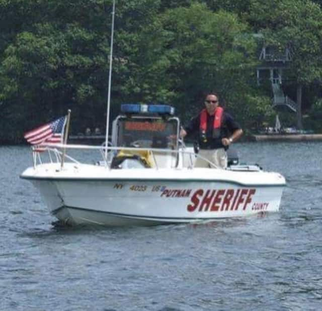 Putnam County Sheriff's Office marine unit.