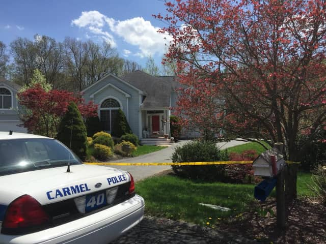 The scene of the homicide in Mahopac.