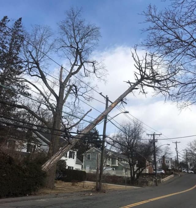 Utility crews are out in force throughout Connecticut making repairs to power lines and restoring electric.