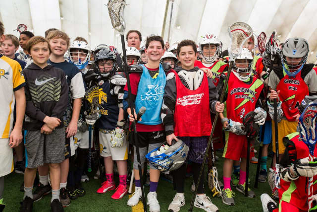 New Rochelle Middle School students Sam Rosenberg and Evan Phillips hosted the second annual Be a Good Cookie Lacrosse Tournament.