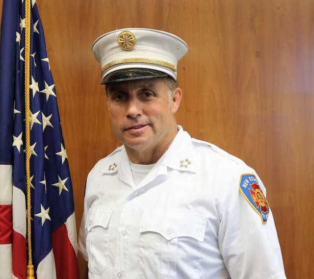 New Rochelle Fire Chief Andrew Sandor