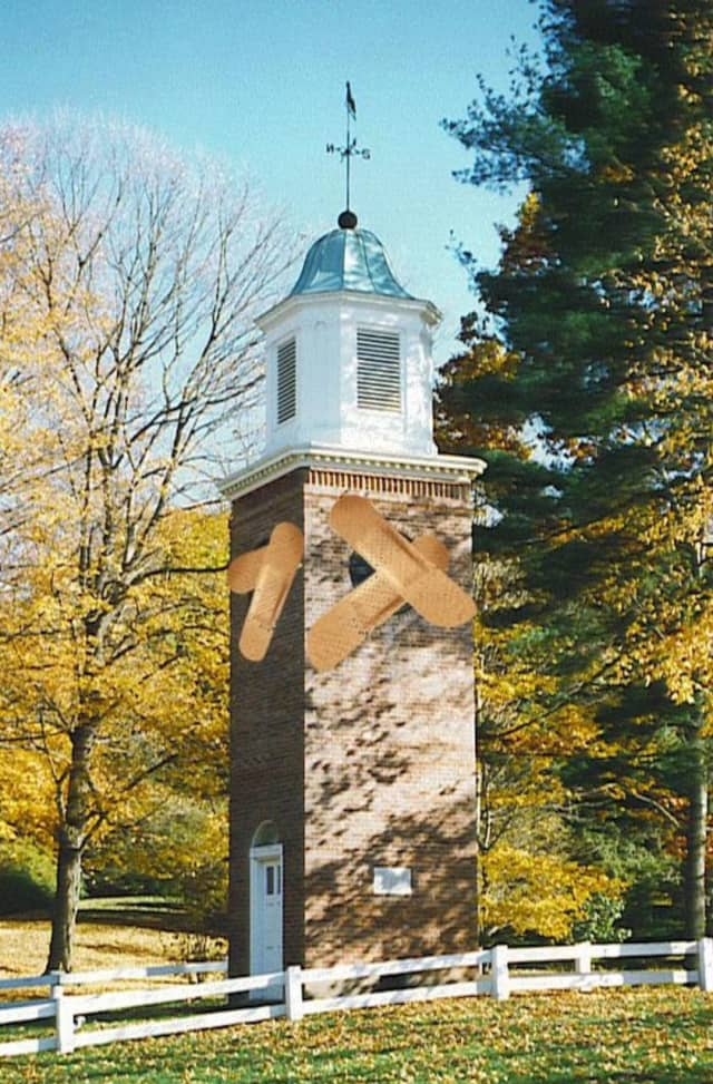 The Bedford Historical Society is raising funds to repair the Sutton Clock which was recently damaged.