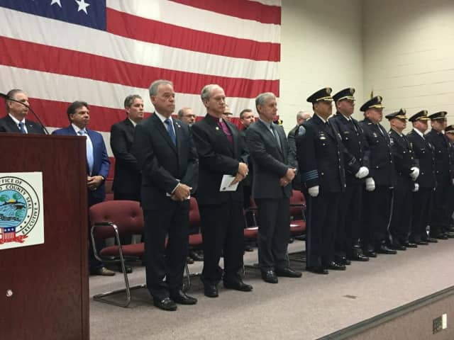 Officials from across the county and state attended the graduation of the newest recruits from the Rockland County Police Academy.