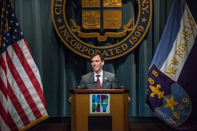 New Rochelle Mayor Noam Bramson.