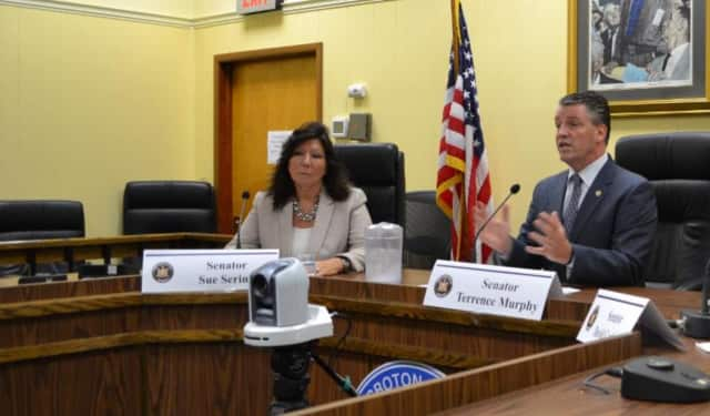 State Sens. Sue Serino and Terrence Murphy have called for legislative hearings to investigate delays in utility companies' response to Winter Storm Riley and prolonged power outages.