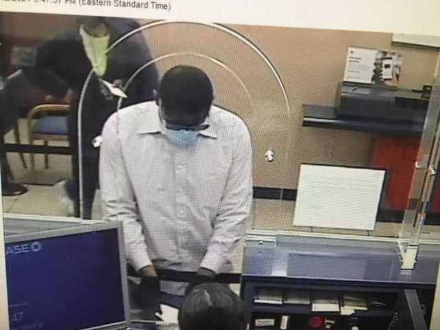 Know him? Police are asking for help identifying an alleged bank robber.