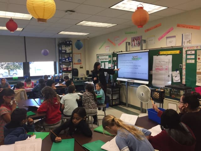 These third-graders in Port Chester Public Schools learn science in two languages.
