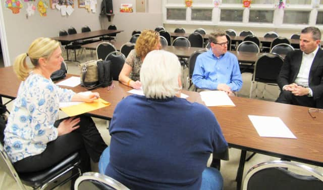 Saddle Brook's community leaders meet at the partnership meeting in March.
