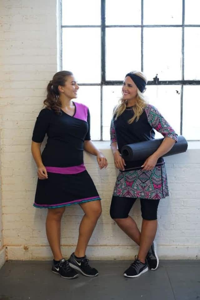 New Rochelle native Sara Wolf is co-founder of a local company that sells figure flattering swim and resort wear.