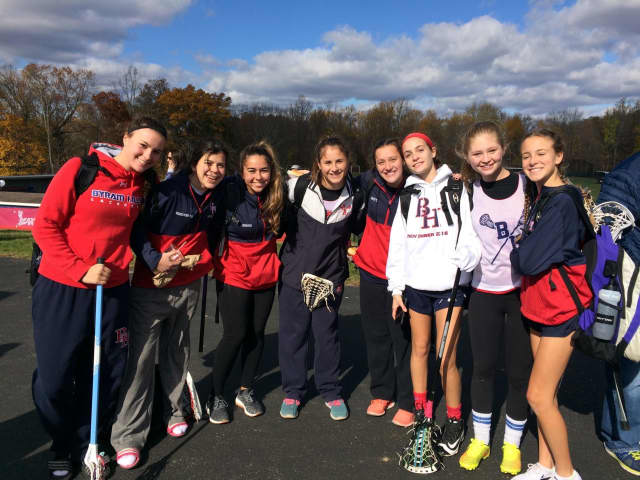 Byram Hills is hosting the annual No Man Down lacrosse tournament.