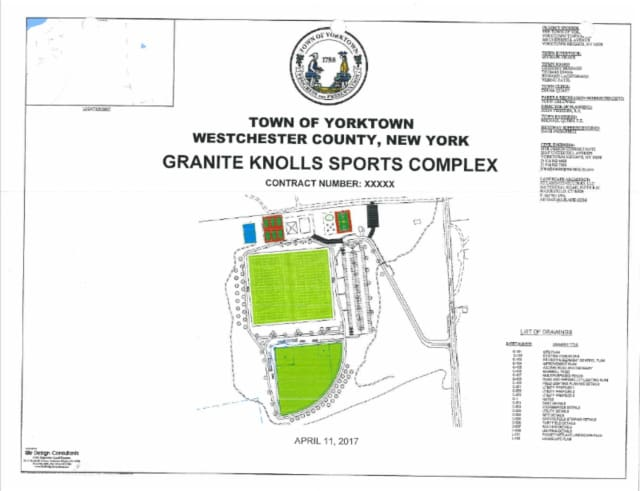 The proposed Granite Knolls Sports Complex.
