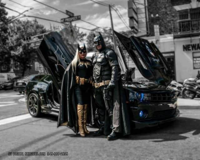 Meet Batman and Batgirl at a TLE Trunk-or-Treat event.
