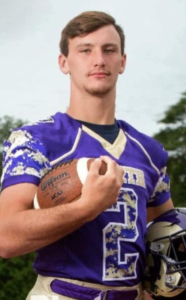 Ryan Clark of Clarkstown North High School is a nominee for USA Football's Heart of a Giant award.
