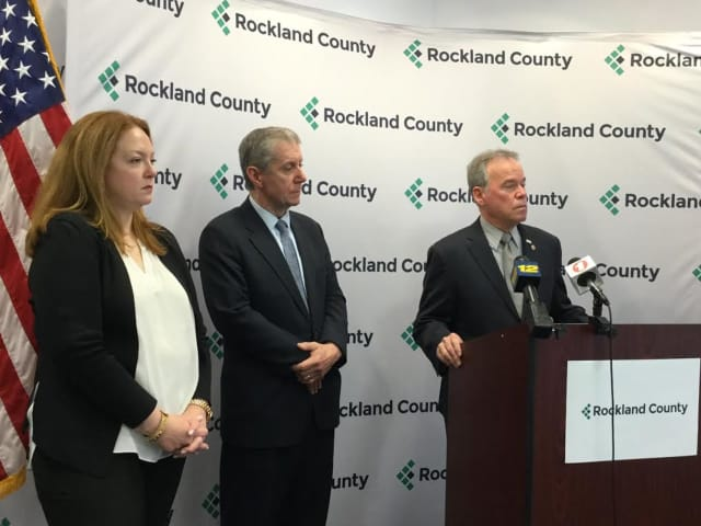 Dr. Susan Hoerter, the medical director of the Rockland County Department of Mental Health, Rockland District Attorney Thomas Zugibe  and Rockland County Executive Ed Day