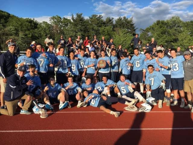The lacrosse team