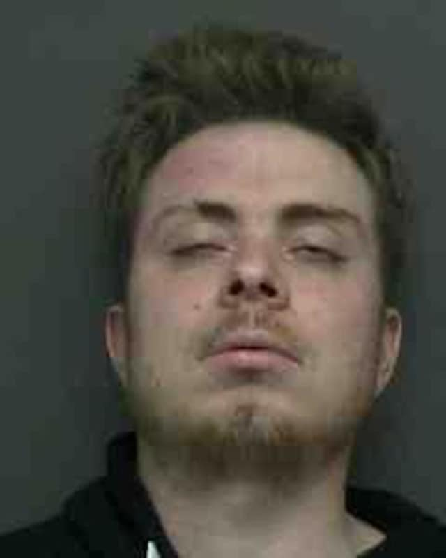 Andrew Verhille of New Windsor was charged with driving while on drugs following a traffic accident.