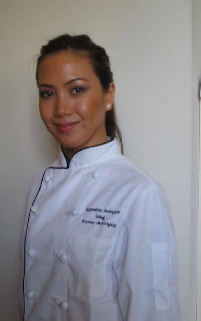 Chef Karen Marayag, owner of My Appetite Delight catering and personal chef service.