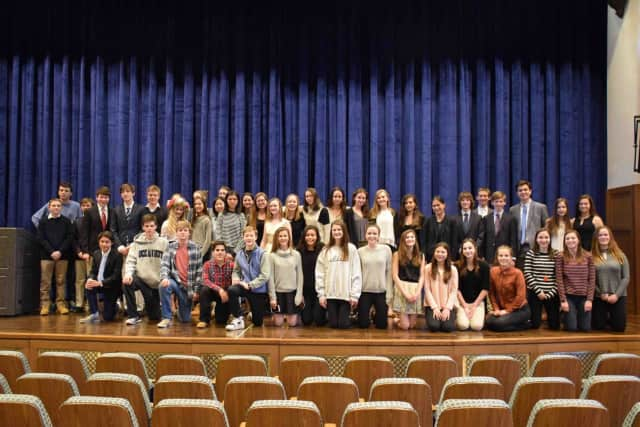 Forty-eight Bronxville High School students advanced to the Lower Hudson Valley Regional National History Day Competition after being named winners in one of several categories at the schoolwide competition.
