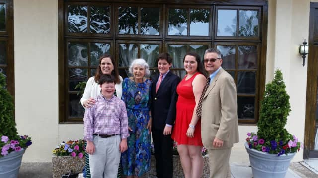 Alix Laager and her mother. Lisina Hoch, along with Laager's family, are being honored by the Westchester Children's Museum.