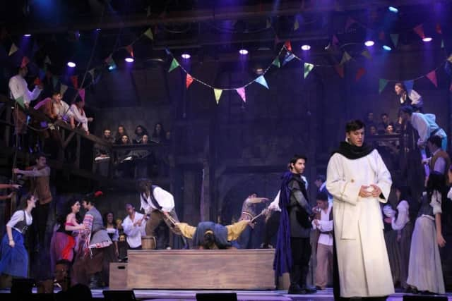"""Stepinac's production of """"The Hunchback of Notre Dame"""" received 18 Metro nominations."""
