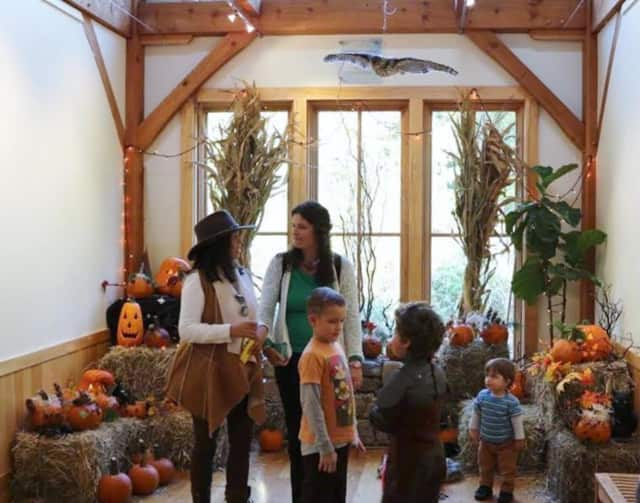 Darien Nature Center is ready for Halloween.