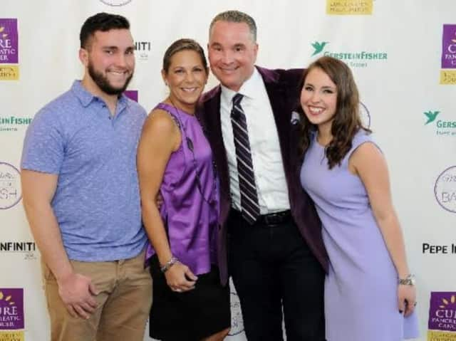 Scott Hirsh and his family will be participating in the Lustgarten Foundation's Westchester Pancreatic Cancer Research Walk in honor of his wife Michelle, who passed away last month.