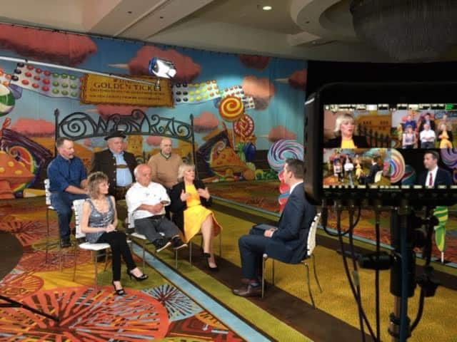 Local artist and Daily Voice Community Advisor Besty Franco Feeney's art work appeared on the Today show earlier this week.