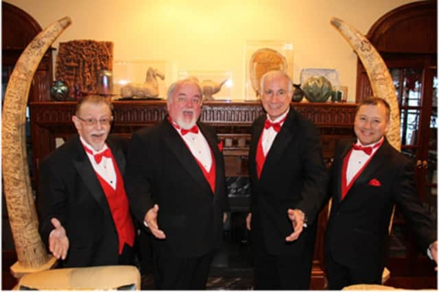Members of the Westchester Singing Chordsmen will deliver Valentine's Day songs to loved ones.