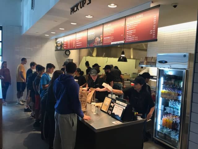 The new Chipotle in Fishkil