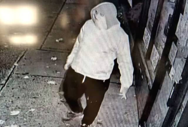 Anyone who sees, recognizes or knows where to find the burglar in the photo is asked to contact Haledon Detective Sgt. Tim Lindberg or Detective Christian Clavo at (973) 790-4444.
